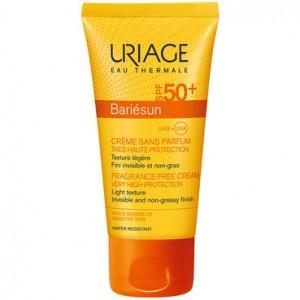 Урьяж Барьесан солнцезащитный крем без ароматизаторов SPF50+ 40 мл