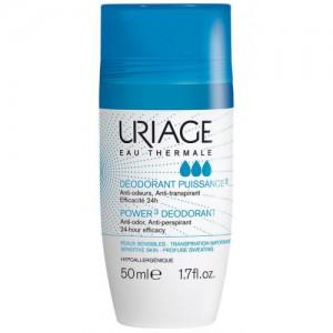 Урьяж дезодорант-антиперспирант тройного действия шариковый 50 мл