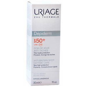 Урьяж Депидерм дневной уход против пигментных пятен SPF50+ 30 мл